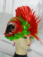 """Разноцветный парик """"Ирокез"""" .8"""