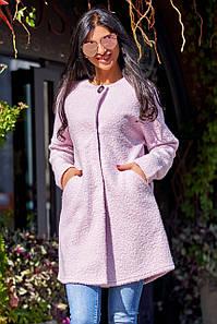 Женское облегченное пальто из букле (Верона jd)