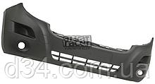 Бампер передний черн с отв п/т Renault Master 3, Opel Movano B 10-14