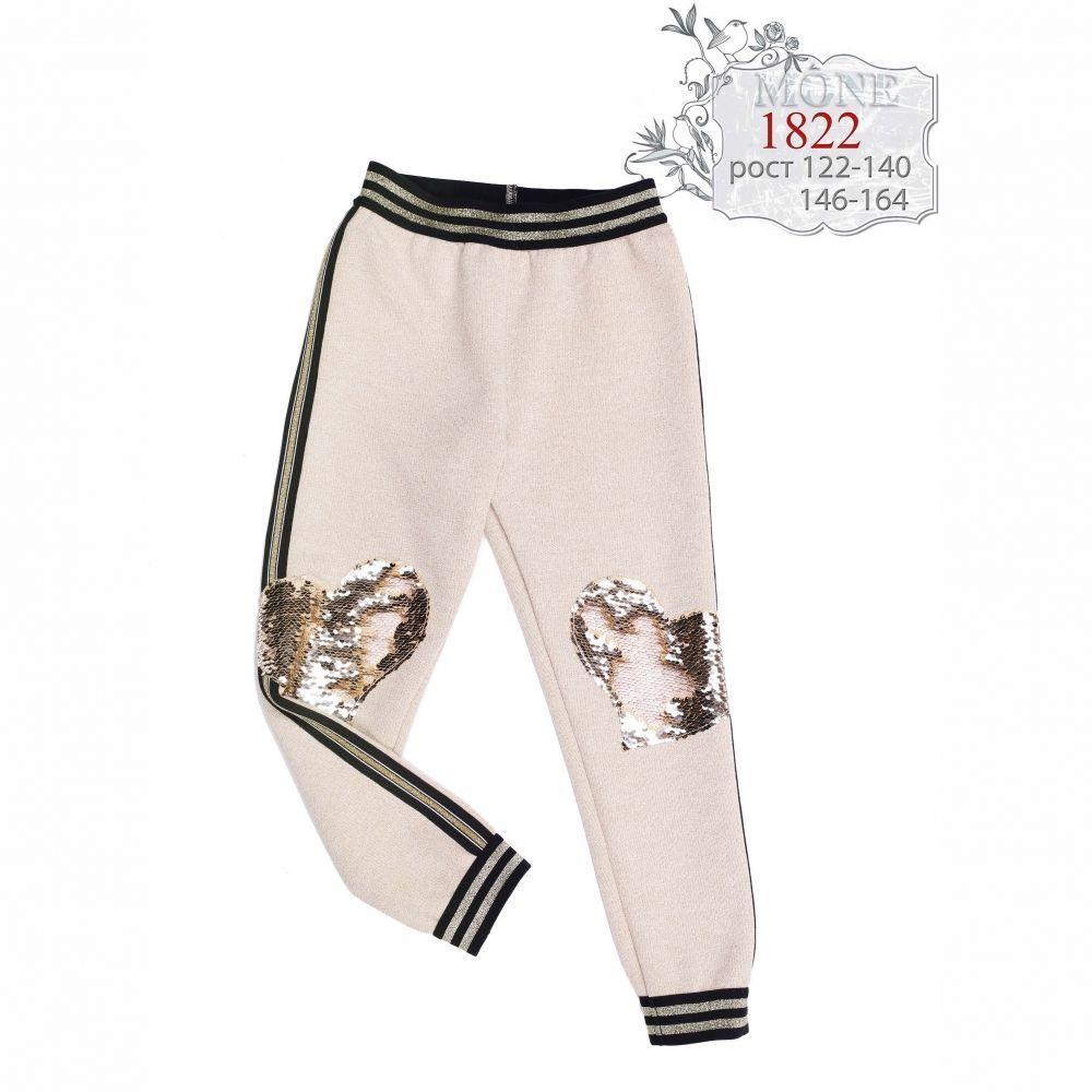 Теплые спортивные брюки Моне  р-ры 116,146,152