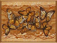 """Схема для вишивки бісером """"Політ метеликів"""""""