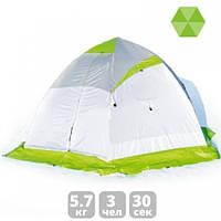 Зимняя зеленая палатка Лотос «LOTOS 4», фото 1