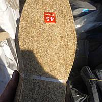 Стелька войлочная размеры  37-48,толщина 5 мм