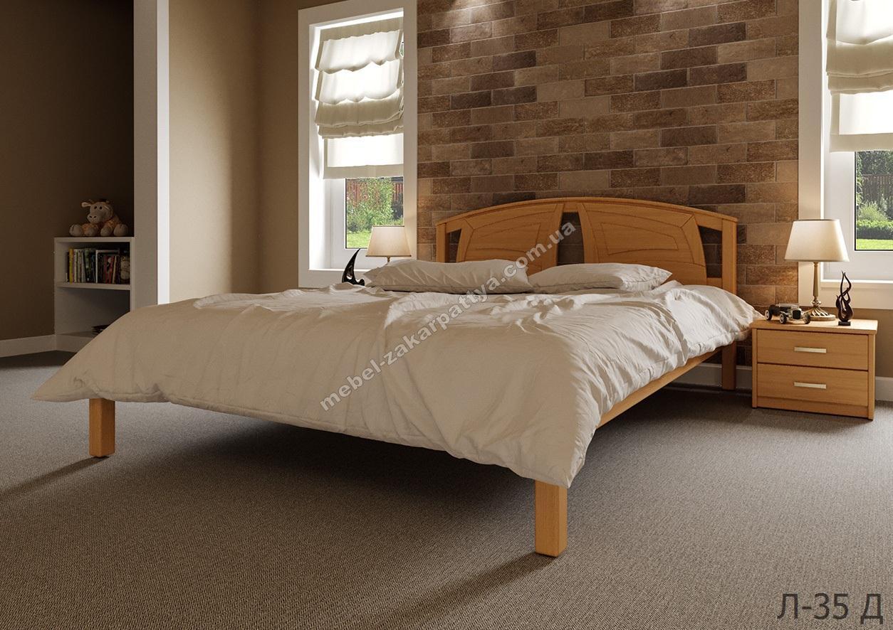 Кровать деревянная Л-35 Д