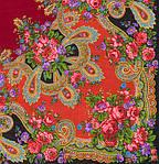 "Павлопосадский шерстяной платок ""Серебро"" размер146х146 см. рис.1243-18, фото 3"