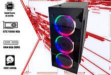 Игровой ПК Intel Core i5 4570, GTX 1050ti 4Gb, DDR3 8Gb, 500Gb