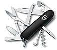 Швейцарский складной нож Victorinox Huntsman, черный, фото 3