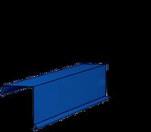 Ветрозащитная планка для металлочерепицы (тип 2)  - 0,47 мм Италия