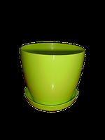 """""""Магнолия""""+подставка  V=3л(d=18см,h=15,9см) лимонный """"Ламела"""""""