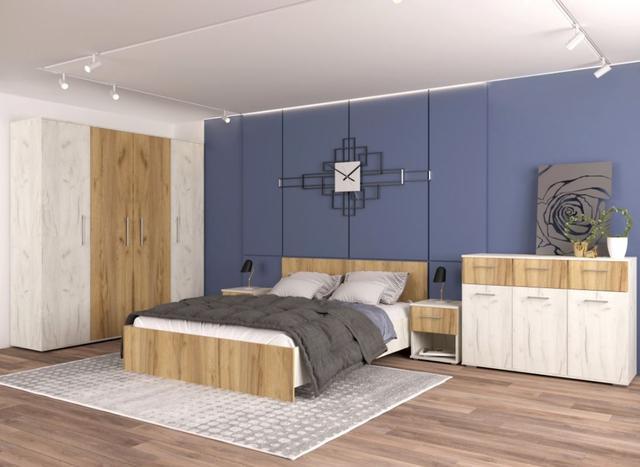 Спальня модульная Крафт
