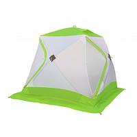 Зимняя зеленая палатка Лотос Классик А8 (дуга - алюминиевый сплав), фото 1