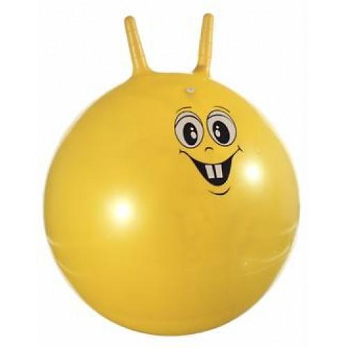 Мяч с рожками 65см