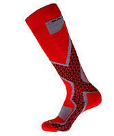 Шкарпетки лижні Emmitou 35-37 Red-Grey SKL35-188153
