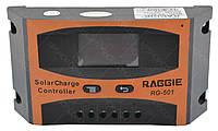 Контроллер для солнечной батареи Raggie Solar controler RG-501 10A #S/O