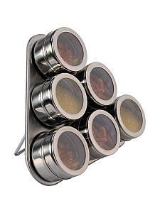 Набор баночек для специй на магните 7 предметов EMPIRE EM 0523