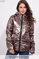 Куртка с прорезными карманами Разные цвета