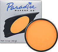 MEHRON Профессиональный аквагрим Paradise, Аквагрим Orange (Оранжевый), 40 г, фото 1