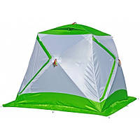 Зимняя зеленая палатка ЛОТОС Куб 3 Компакт, фото 1