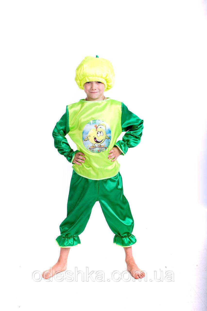 Дитячий карнавальний костюм Яблука