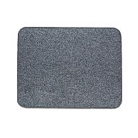 Электрический коврик с подогревом Теплик 50 х 40 см термоизоляцией Темно-серый