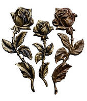 Латунна атрибутика, надгробне оздоблення( рози)