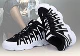 Кросівки Sport ч\б, фото 2