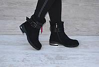 Ботинки женские  Selsey черные зима, фото 1