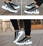 Кросівки Sport ч\б, фото 4