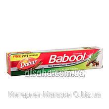 Зубная паста Babool Dabur, с акацией и гвоздикой