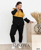 Спортивный костюм легкий красивый женский большие размеры размер от50 до 62, фото 2