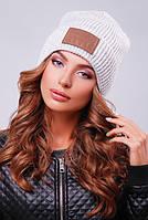 ЖІноча вязана шапка  , 6 кольорів в наявності, фото 1