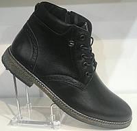 Ботинки на байке мужские кожаные от производителя модель Г2110Д