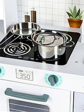 Детская деревянная кухонная плита и аксессуары Ecotoys, фото 2