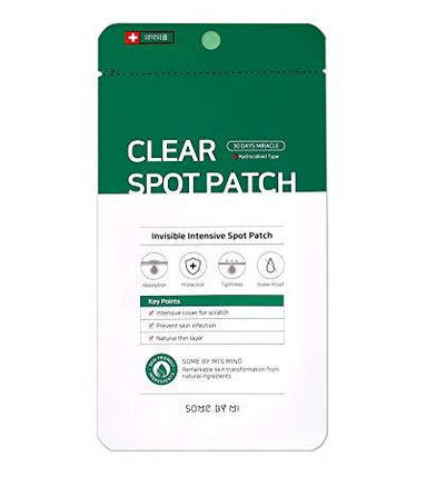 Локальные патчи от воспалений Some By Mi 30 Days Miracle Clear Spot Patch, фото 2