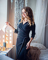 Нарядное платье с вшитыми чашками