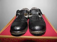 Мужские рабочие летние ботинки Prabos р.38 кожа 008BRM