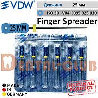 Фінгер Спредер ВДВ - для ущільнення гутаперчевих штифтів (латеральної конденсації) Finger Spreader VDW, L25мм ISO №30
