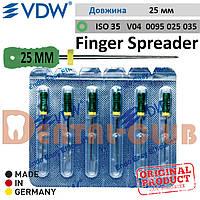 Фінгер Спредер ВДВ - для ущільнення гутаперчевих штифтів (латеральної конденсації) Finger Spreader VDW, L25мм ISO №35