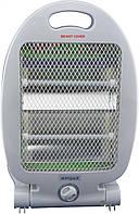 Бытовой напольный электро обогреватель | Камин для дома | WimpeX WX 454 (400 - 800 Вт)