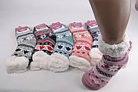 Женские носки на МЕХУ с тормозами (Арт. B200-7) | 6 пар