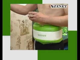 Масажний пояс для схуднення ZENET TL-2005L-B