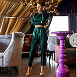 Женский костюм с брюками (в расцветках), фото 3