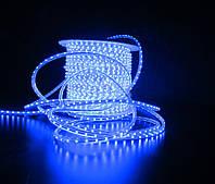 Уличный плоский светодиодный шнур Lumion Led Duralight 6*12 мм 60 LED/м.п. наружный цвет синий