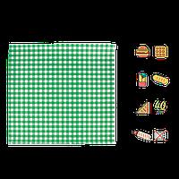 """Упаковочная Бумага Зеленая клетка """"Гамбургер"""" 300х320мм (ВхШ) 40г/м² 500шт (1828)"""
