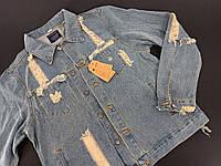 Джинсова куртка M