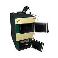 Котел твердотопливный длительного горения ТИВЕР - КТ 24 кВт с регулятором тяги