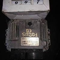 №7 б/у Блок управления двигателя  F1FA-12A650-DJE 0261s16898 Ford Focus III 2011-14