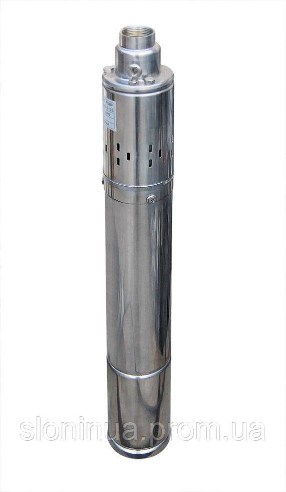Насос скважинный шнековый  VOLKS pumpe  3,5 QGD 1-50-0.37кВт 3,5 дюйма! + кабель 15м