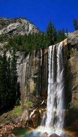 Карбоновий обігрівач-картина Водоспад