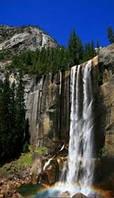 Карбоновый обогреватель-картина Водопад